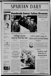 Spartan Daily, February 21, 2005 by San Jose State University, School of Journalism and Mass Communications