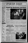 Spartan Daily, March 24, 2005 by San Jose State University, School of Journalism and Mass Communications