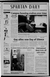 Spartan Daily, April 11, 2005 by San Jose State University, School of Journalism and Mass Communications