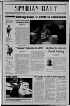 Spartan Daily, April 18, 2005