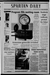 Spartan Daily, April 19, 2005