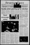 Spartan Daily, October 13, 2005 by San Jose State University, School of Journalism and Mass Communications