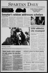 Spartan Daily, October 25, 2005