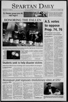 Spartan Daily, October 27, 2005