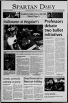 Spartan Daily, November 1, 2005 by San Jose State University, School of Journalism and Mass Communications