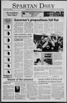 Spartan Daily, November 9, 2005 by San Jose State University, School of Journalism and Mass Communications