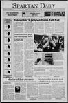 Spartan Daily, November 9, 2005