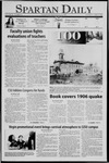 Spartan Daily, April 18, 2006