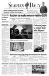 Spartan Daily, November 16, 2006