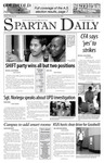 Spartan Daily, March 22, 2007