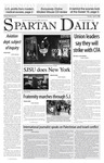 Spartan Daily, April 3, 2007 by San Jose State University, School of Journalism and Mass Communications