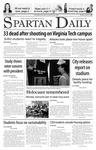 Spartan Daily, April 17, 2007