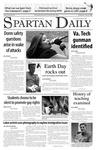 Spartan Daily, April 18, 2007