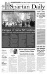 Spartan Daily, September 11, 2007