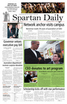 Spartan Daily, October 15, 2007 by San Jose State University, School of Journalism and Mass Communications