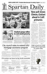 Spartan Daily, October 18, 2007