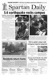 Spartan Daily, October 31, 2007