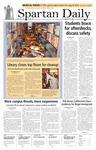 Spartan Daily, November 1, 2007 by San Jose State University, School of Journalism and Mass Communications