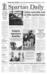 Spartan Daily, November 6, 2007 by San Jose State University, School of Journalism and Mass Communications
