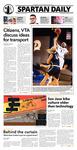 Spartan Daily, November 3, 2015