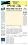 Spartan Daily, April 14, 2008