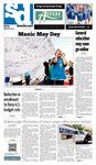 Spartan Daily May 2, 2012