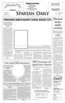 Spartan Daily, April 22, 2008