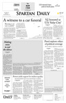 Spartan Daily, April 24, 2008