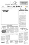 Spartan Daily, April 29, 2008 by San Jose State University, School of Journalism and Mass Communications