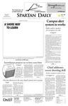 Spartan Daily, April 29, 2008