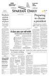 Spartan Daily, April 30, 2008