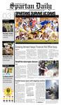 Spartan Daily, September 3, 2008