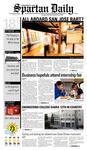 Spartan Daily, September 18, 2008