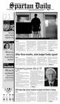 Spartan Daily, October 1, 2008