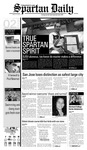 Spartan Daily, October 2, 2008