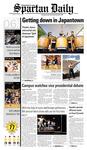 Spartan Daily, October 6, 2008