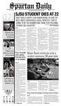 Spartan Daily, October 7, 2008