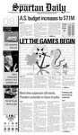 Spartan Daily, October 8, 2008