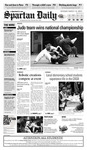Spartan Daily, March 16, 2009