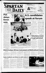 Spartan Daily, March 13, 2002 by San Jose State University, School of Journalism and Mass Communications