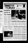 Spartan Daily, March 15, 2002 by San Jose State University, School of Journalism and Mass Communications