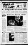 Spartan Daily, March 19, 2002 by San Jose State University, School of Journalism and Mass Communications