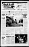 Spartan Daily, April 3, 2002 by San Jose State University, School of Journalism and Mass Communications