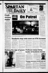 Spartan Daily, April 4, 2002 by San Jose State University, School of Journalism and Mass Communications