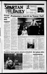 Spartan Daily, April 5, 2002 by San Jose State University, School of Journalism and Mass Communications