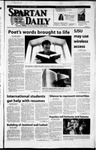 Spartan Daily, April 9, 2002 by San Jose State University, School of Journalism and Mass Communications
