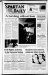 Spartan Daily, April 16, 2002 by San Jose State University, School of Journalism and Mass Communications