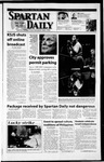 Spartan Daily, April 18, 2002 by San Jose State University, School of Journalism and Mass Communications
