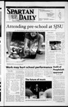 Spartan Daily, April 24, 2002 by San Jose State University, School of Journalism and Mass Communications