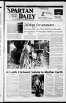 Spartan Daily, April 25, 2002 by San Jose State University, School of Journalism and Mass Communications